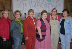 Shaun with Mayes County Storytellers at Tellabration